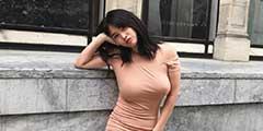 短裙快遮不住了!韩国网红美女Juasicko性感写真