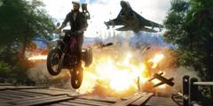 E3:《正当防卫4》首批高清截图泄露 惊险爆炸场景!