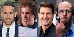 为了角色而牺牲形象的演员 这样肥胖的贱贱你见过吗?