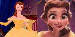 迪士尼公主新3D形象引网友热议 简直就是邪魔歪道!