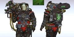 玩家重绘《红色警戒2》单位原画 满满赛博朋克气息