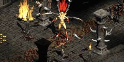 《暗黑破坏神2》18岁了 女妖安达利尔早期版并非裸体