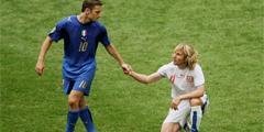 世界杯10大悲情英雄 小贝被一张红牌提前送回了家