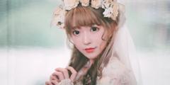 韩国第一美少女Yurisa花嫁礼服美照 是小仙女本仙!