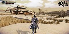 国产游戏《武林志》官方公布全新游戏截图与设定!