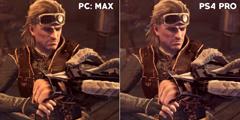 《怪物猎人》PC/PS4 Pro画面比照 你看得出差别吗?