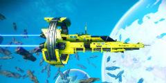 《无人深空》精美游戏截图:更新后充满震撼与壮观!