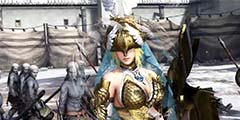 《无双大蛇3》雅典娜实机演示 勇武性感的战场女神!
