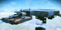 《无人深空》精美基地截图 超级高塔在太空依然可见!