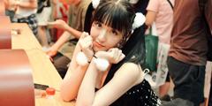 CJ2018:展会现场Showgirl心动福利 宅男大饱眼福!