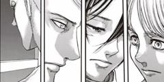 《进击的巨人》108话汉化版公开 三人组遇信任危机!