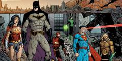 DC四部新动画电影海报正式曝光 亚马逊女战士骑飞马