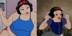 一胖毁所有!当迪士尼公主们吃成小胖子 花木兰变媒婆