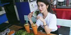 日本美女模特大口智惠美福利写真 充满中国年代风情