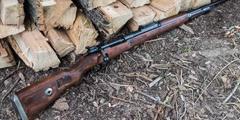 枪械零件中木材小知识 昂贵核桃木制造98k价格感人!