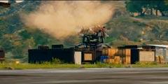 《正当防卫4》官方公布全新演示 逆天主角逐龙卷