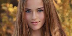 世界最美萝莉长大了!一双迷人湛蓝眼眸女人味十足