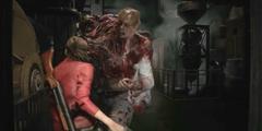GC2018:《生化危机2:重制版》克莱尔演示 战斗激烈