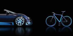 27万的布加迪威龙自行车了解一下 好看、贵、买不起