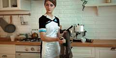 俄妹cos《底特律:我欲为人》卡拉 完美家政女机器人