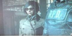 《生化2:重制》艾达王正脸曝光!白衣墨镜高冷女神!