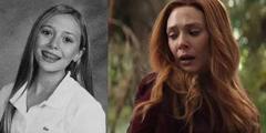20位漫威演员的青涩过去 绯红女巫是校花本人了!