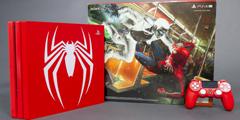 《漫威蜘蛛侠》限定版PS4 Pro主机开箱 大蜘蛛太抢眼