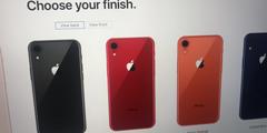 疑似iPhone 9苹果官方页面曝光 6.1寸双卡还有五个色