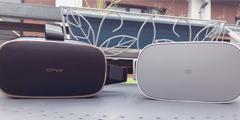 小米VR与DPVR全景声3D巨幕影院一体机横向对比(一)