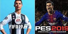 《实况2019》VS《FIFA19》球员 以尤文/大巴黎为例