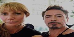 《复仇者联盟4》片场钢铁侠小辣椒自拍 美队晒爱狗