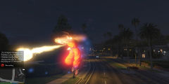 赛亚人悟空入侵《GTA 5》!这款mod让你瞬间转移!