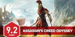 《刺客信条:奥德赛》IGN评9.2分!历代得分最高之作!