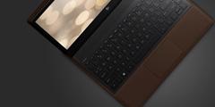 """惠普新笔记本""""重新发明PC"""":皮革材质 相当奢华!"""