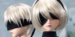 《尼尔》2B、9S娃娃细节公布 黑丝美腿身材超火辣!