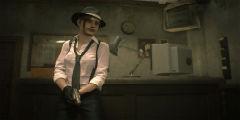 《生化危机2:重制版》新服装高清截图 自带黑白滤镜!