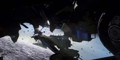科幻恐怖射击游戏《死亡空间2》太空场景虚幻4重制