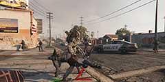 《GTA5》铁血战士MOD终极演示 铁血战力堪称无敌!