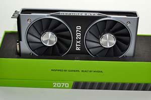 RTX2070遭看贬 比GTX1080性能强12% 价格却高33%