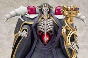 人气动漫《Overlord》推骨傲天手办 售价23400日元