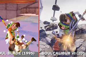 《灵魂能力6》与初代《魂之利刃》对比 同步率超高