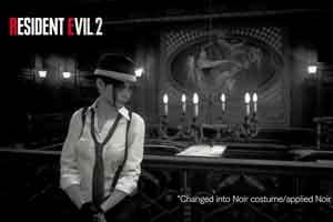 《生化2:重制版》克莱尔新造型 神似迈克尔·杰克逊
