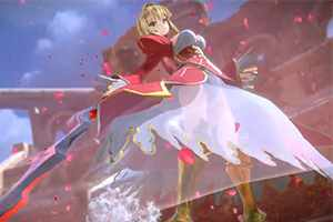 NS版《Fate/EXTELLA LINK》英灵演示 可爱暴君尼禄