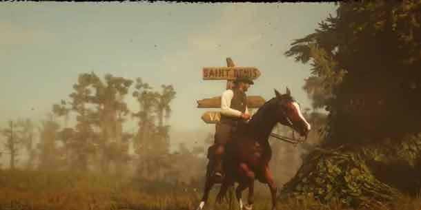 《荒野大镖客2》PS4版30天限时独占内容视频展示!