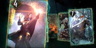 《巫师:昆特牌》正式登陆PC 简单游玩教学视频发布