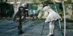 《灵魂能力6》2B海量高清截图!黑白套裙魅力无限!