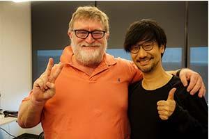 小岛秀夫拜访V社与G胖合影 网友:《半条命3》确认!