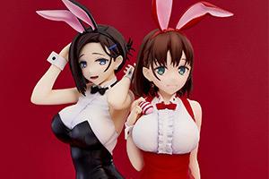 手办鉴赏室:萝莉兔女郎御姐兔女郎你喜欢哪个?