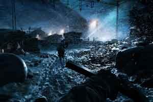 《战地5》大批4K最高画质截图 断壁残垣破碎美感!