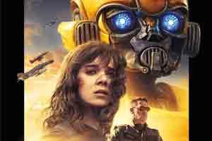 变形金刚《大黄蜂》正式海报 萝莉夕阳下邂逅机器人